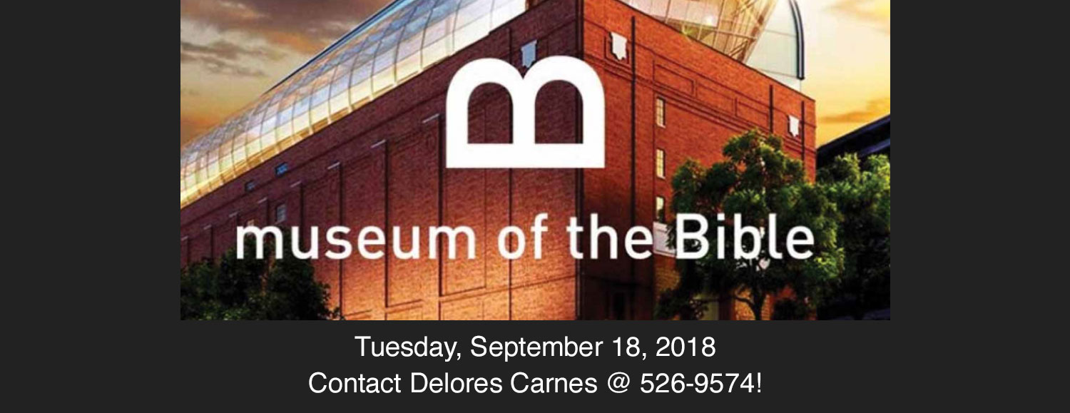Musuem of the Bible September 18